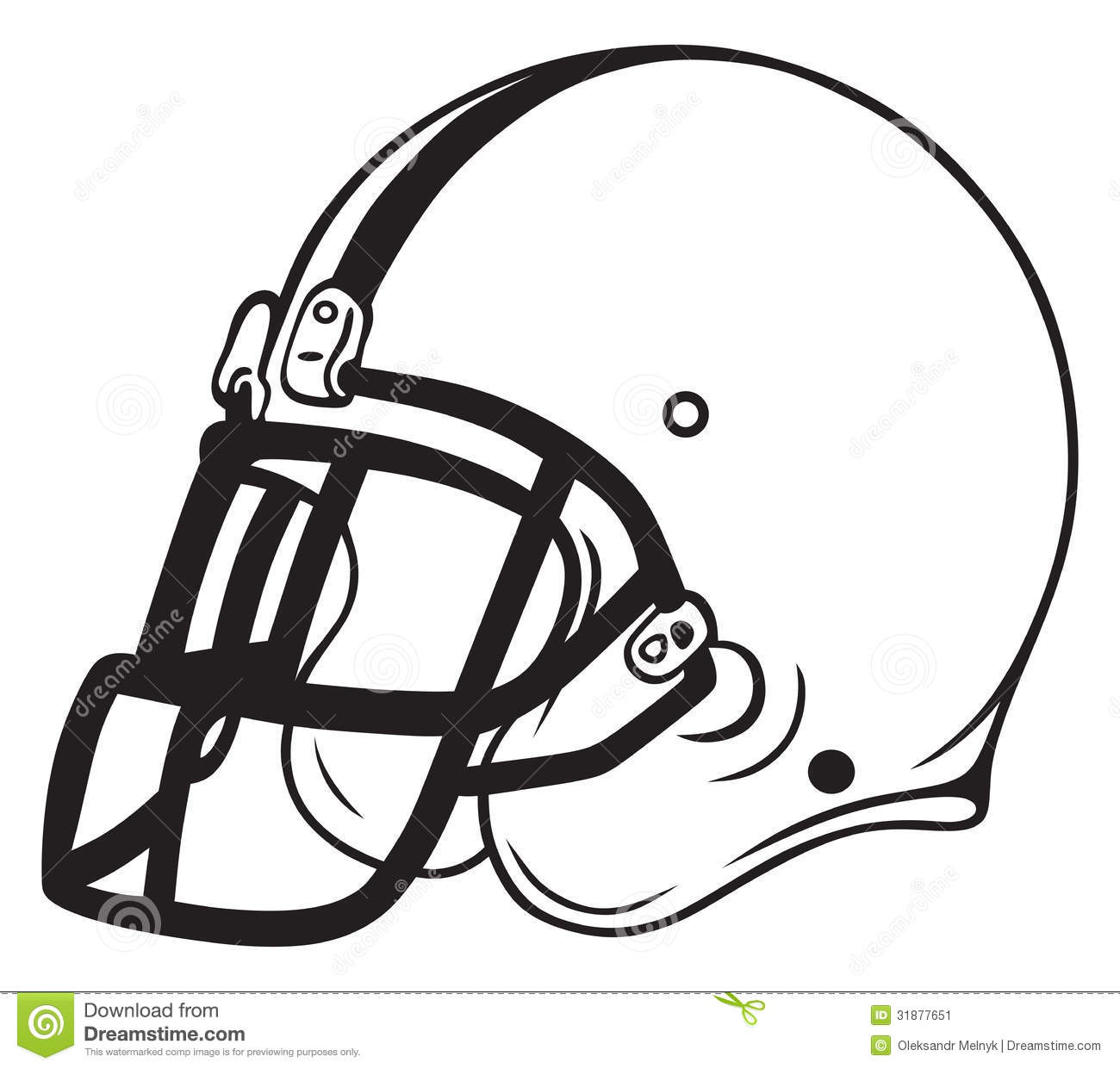 Football helmet clipart no background.