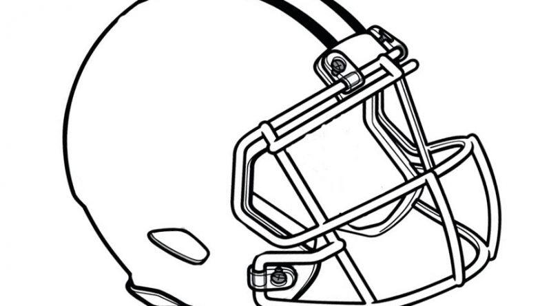 Football Helmet Clipart.