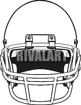 Football And Helmet Clipart.