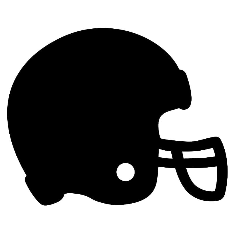 Black helmet sketch, Ole Miss Rebels football American.