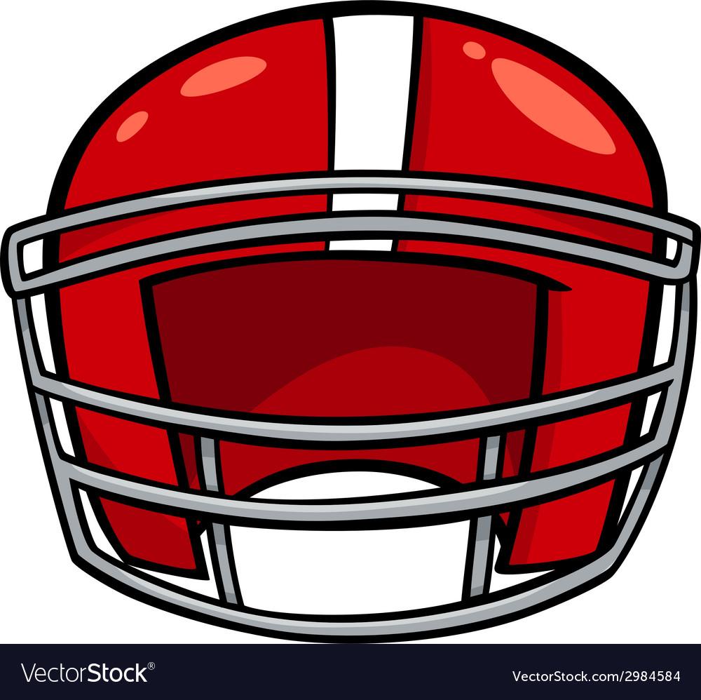 American football helmet clip art.
