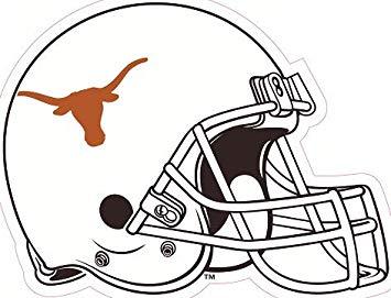 Amazon.com: 3 Inch Longhorn Football Helmet Logo Decal UT.