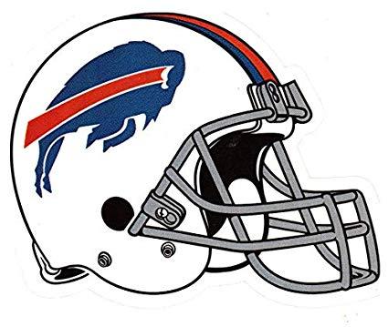 fb 4 Pack Buffalo Bills Die Cut Stickers NFL Football Logo Sticker Team  Helmet Set NY.