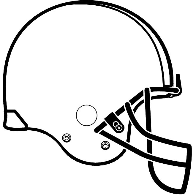 football helmet outline clipart 20 free Cliparts ...
