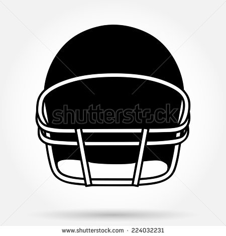Football Helmet Vector Stock Images, Royalty.