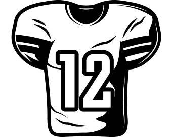 Football Jersey Clipart Images.