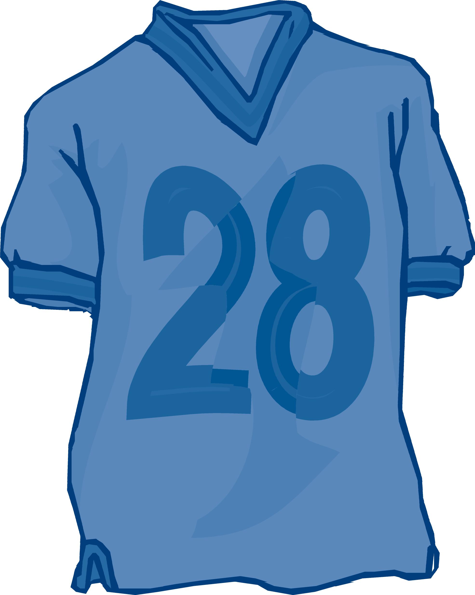 Football Jersey Clip Art Free free image.