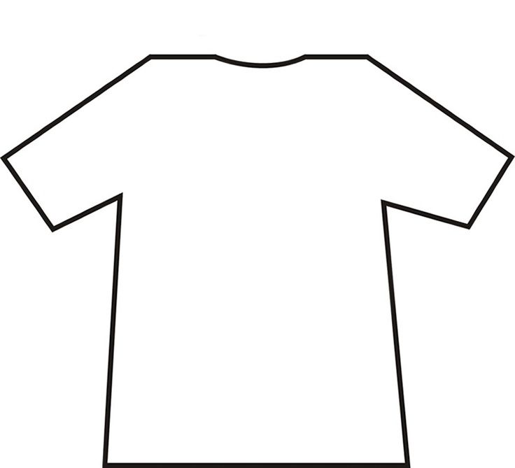 Printable Template Jersey.