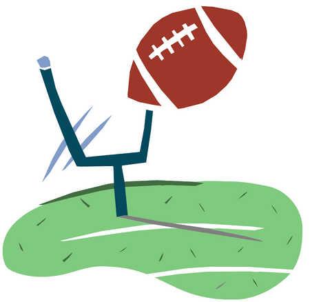 Football Kickoff Clipart.