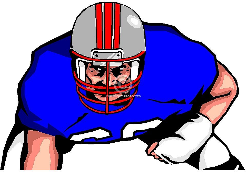 Football lineman clipart free 6 » Clipart Portal.