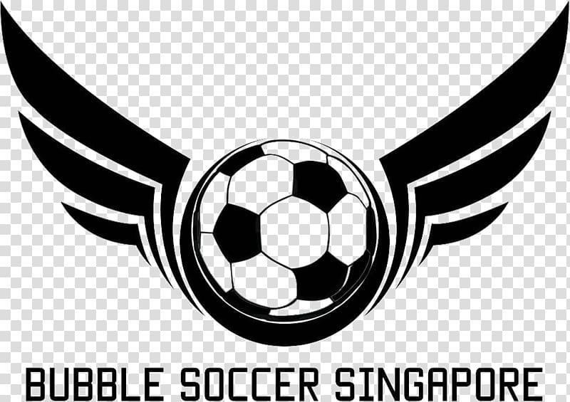 Logo Football Team Graphic design, Bubble soccer transparent.
