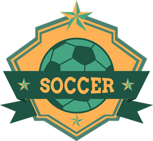 Soccer ribbon football club Logo Vector (.AI) Free Download.