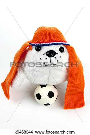 Stock Photo of Football madness of Holland k9468344.