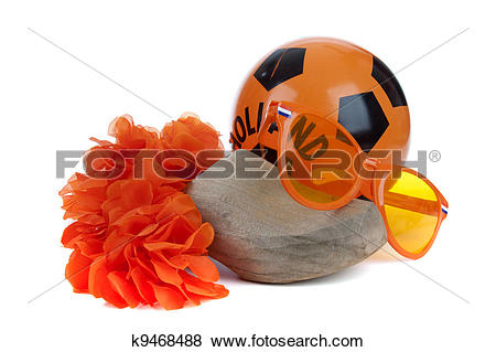 Pictures of Football madness of Holland k9468488.