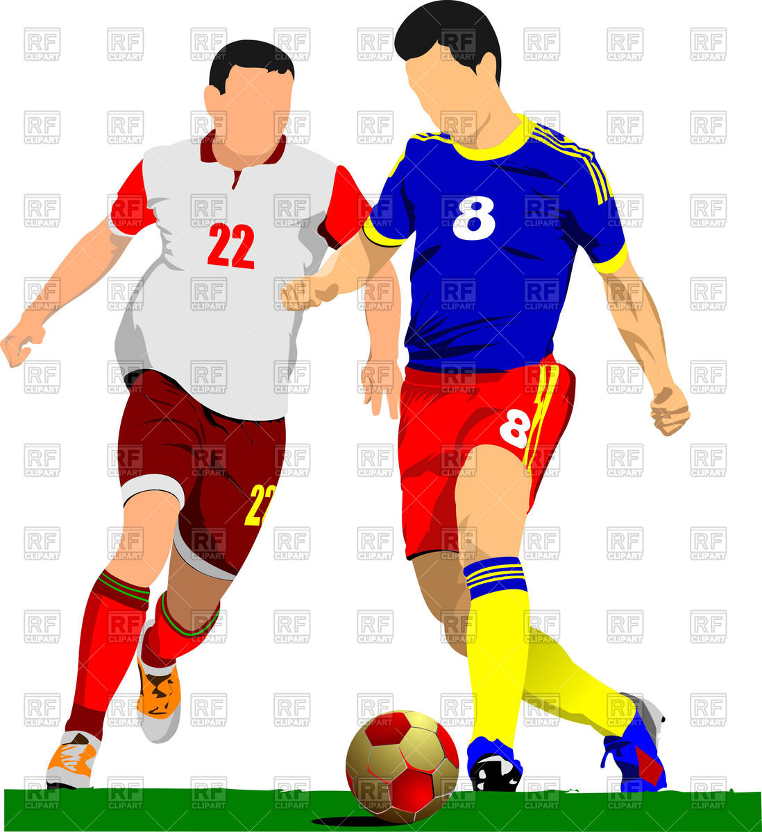 Football Clip Art Matches.