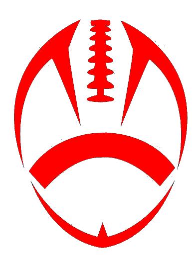 Red Football Cut.
