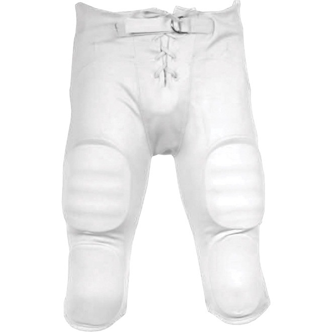 Sports Unlimited Double Knit Youth Integrated Football Pants.