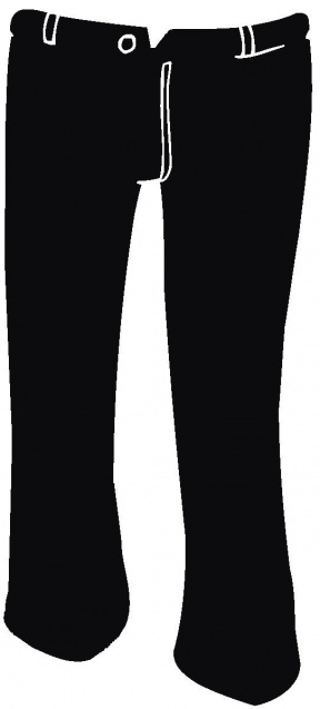 Football Pants Clipart.