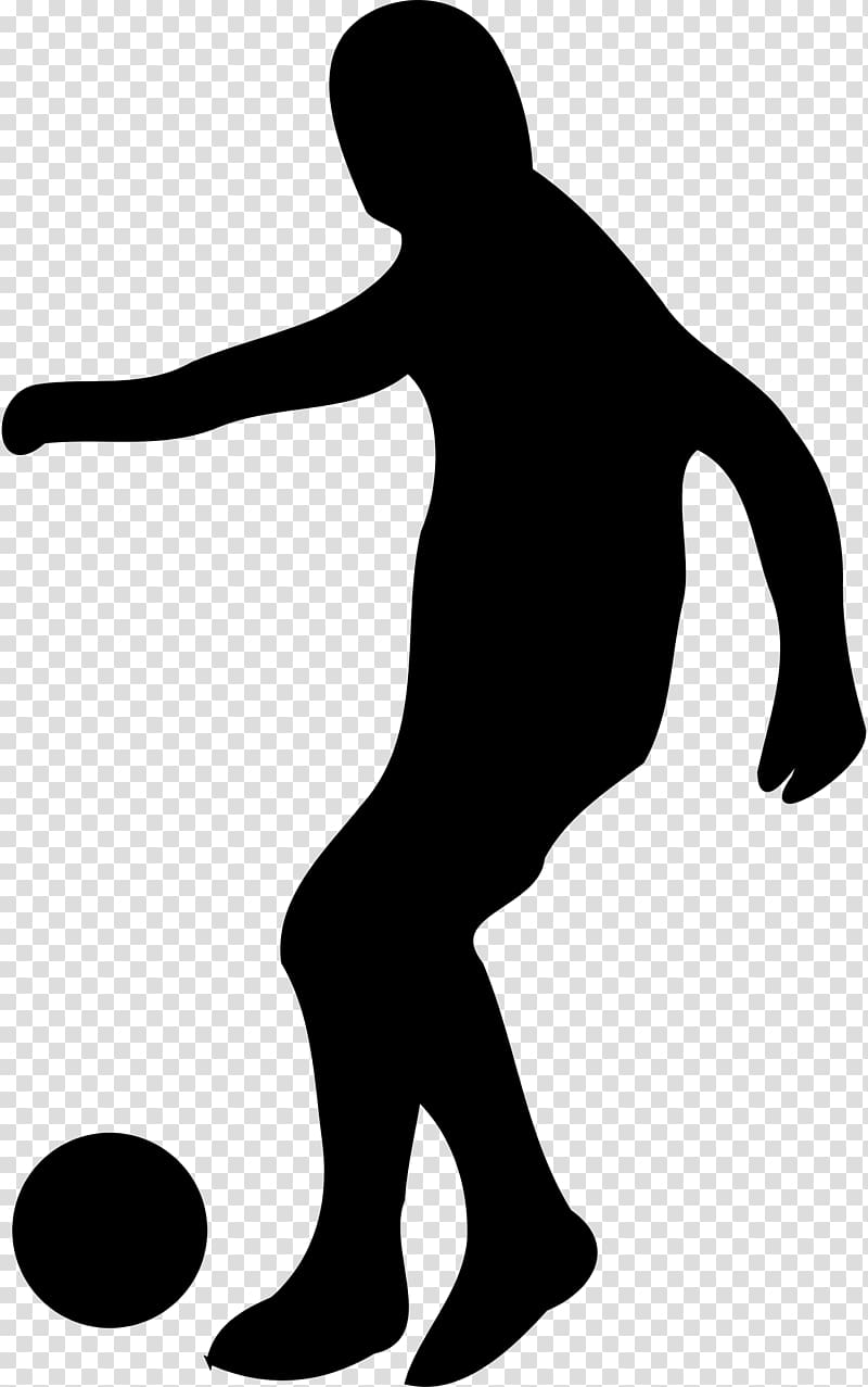 Football player Dribbling , Pass transparent background PNG.