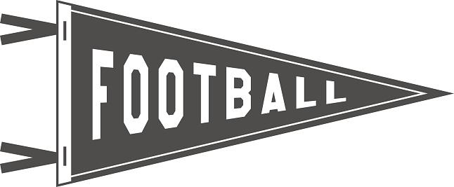 Pennant clipart football pennant, Pennant football pennant.