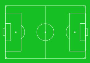 Football pitch clip art.