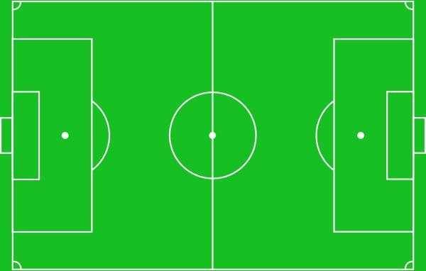 Football Pitch clip art Free Vector / 4Vector.
