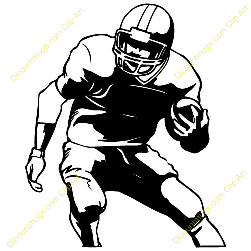 Football Player Clipart Free.