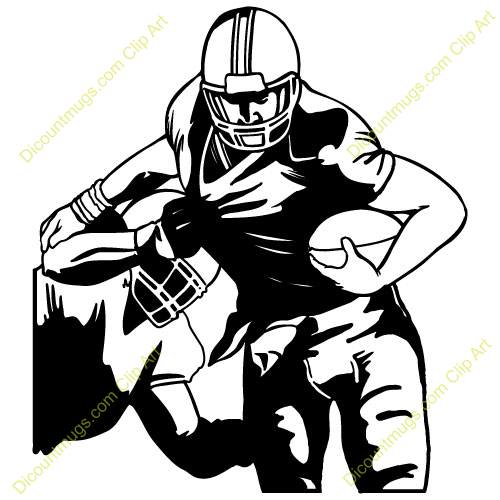Football player clipart free 6 » Clipart Station.