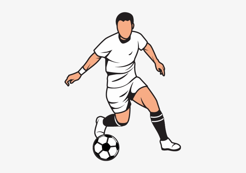 Graphic Download Clipart Football Player.