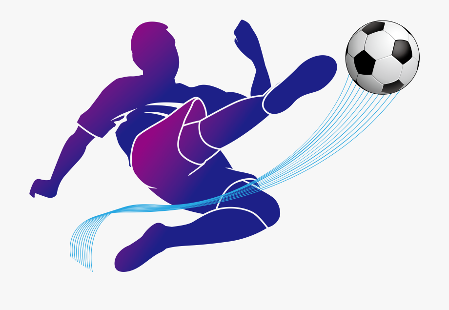 Football Player Vector Png Clipart , Png Download.