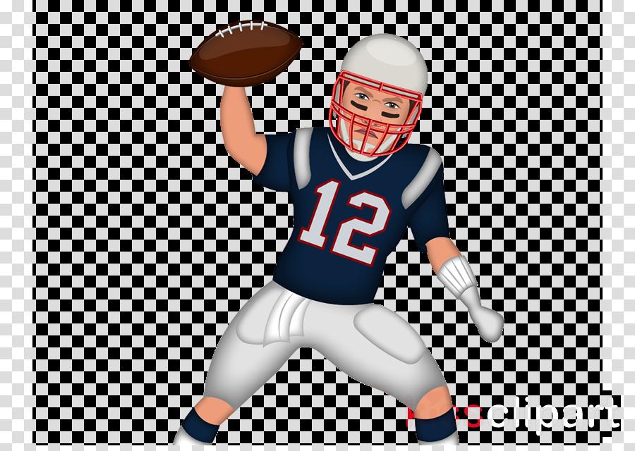 Football player clipart.
