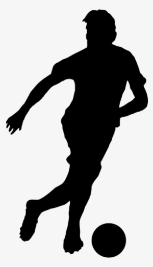 Football Player Silhouette PNG, Transparent Football Player.