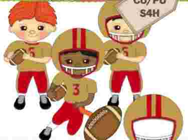 Best Cliparts: Baby Football Player Clipart Images Carolina.