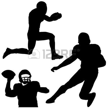 8,025 Quarterback Stock Vector Illustration And Royalty Free.