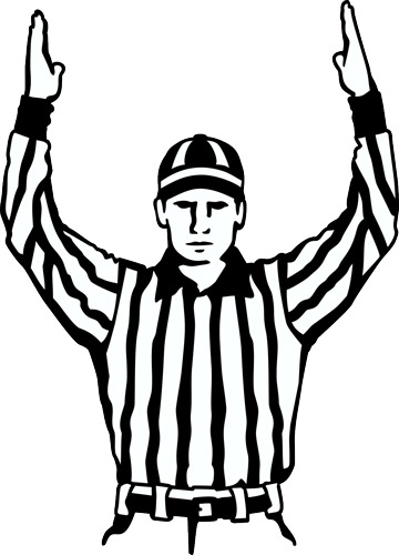 Collection of Referee clipart.