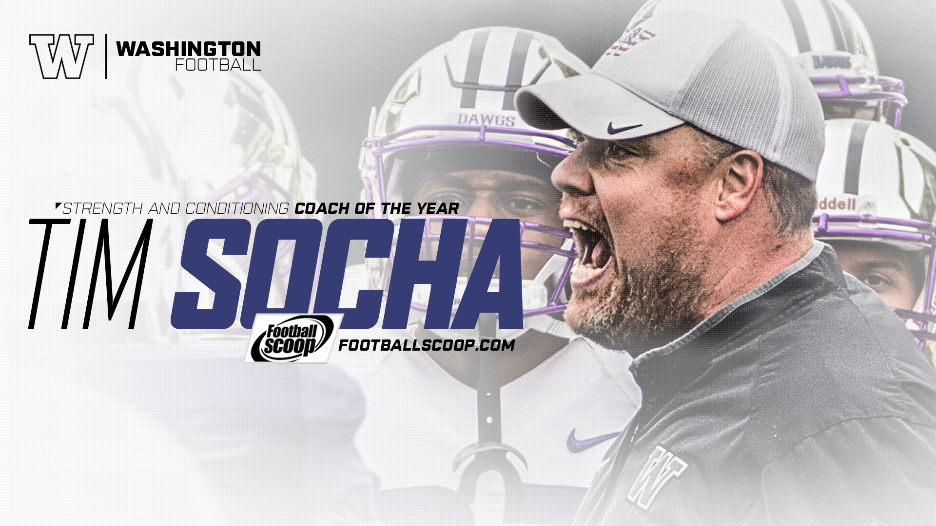 Socha Named Football Scoop Strength Coach Of The Year.