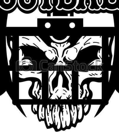 Vectors of pirates football team design with crossed swords.