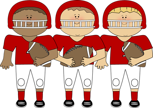 Football sports clipart #9
