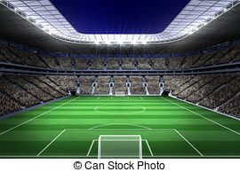 Football stadium Clipart and Stock Illustrations. 17,060 Football.