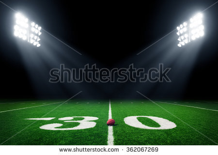 Stadium Lights Stock Images, Royalty.