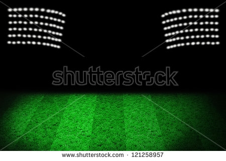 Football Stadium Lights Clipart.