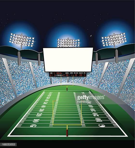 football stadium lights clipart