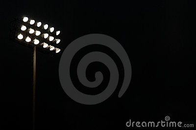 Football Stadium Lights Clipart.