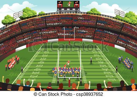 661 Stadium free clipart.