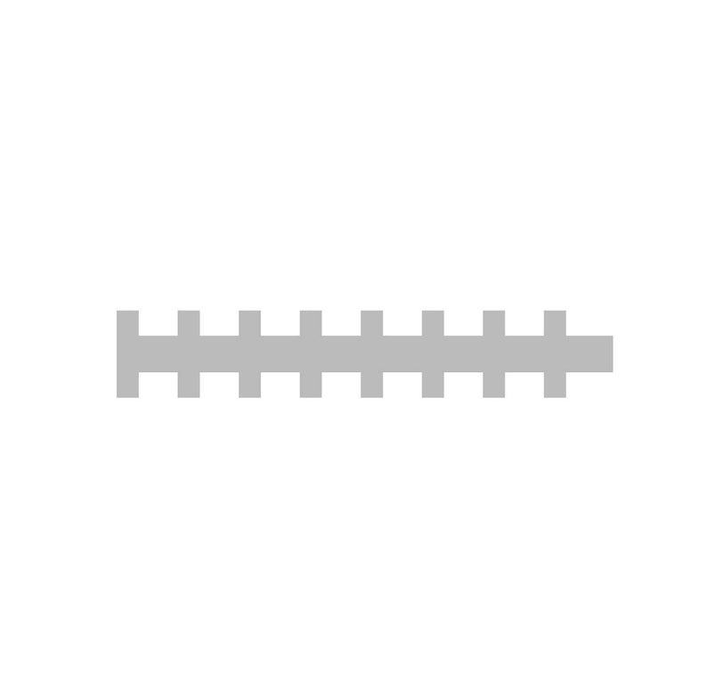 SVG Clipart Straight Football Stitches Laces Border.