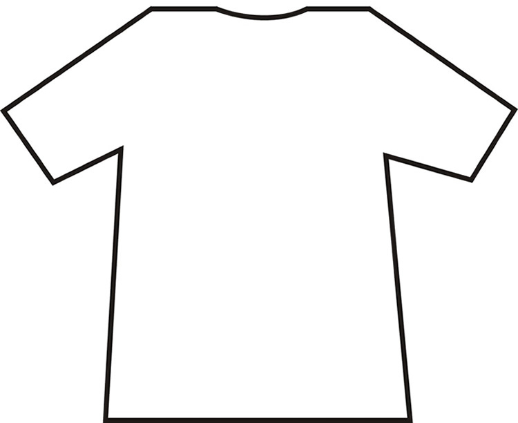 Shirt Outline Printable.
