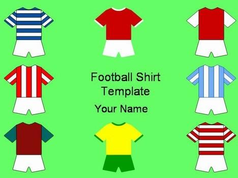 Sports Shirts Cliparts.