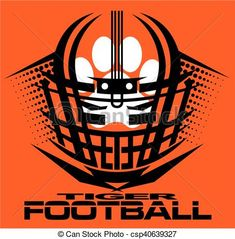 75 Best TIGER FOOTBALL CLIPART DESIGNS images in 2019.