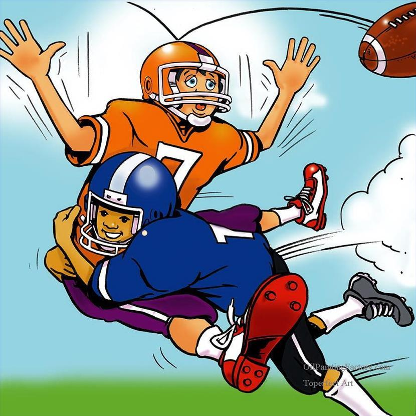 Football Tackle Clipart 21.