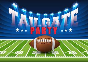 Tailgate Background Free Vector Art.